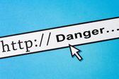 Segurança on-line — Foto Stock