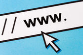 Surfing the Net — Stock Photo