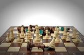 Winning chess game — Stock Photo