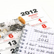 New Year's resolutions - quit smoking — Stock Photo #7149757