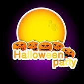 Ensemble de symboles d'halloween — Vecteur