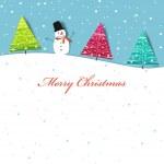 Card christmas — Stock Vector