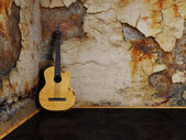 Nice interesting guitar — Foto Stock