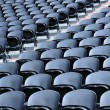Black seats — Stock Photo