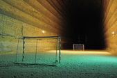 Football area underground — Stock Photo