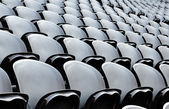 Seats on the stadion — Stock Photo