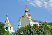 The Pokrovsky Cathedral in Kharkiv — Stock Photo