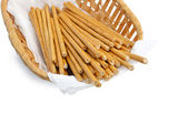 Bread sticks (straws) — Stock Photo