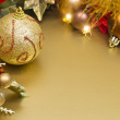 Royalty-Free Stock Photo: Golden Christmas