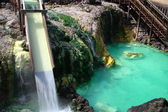 Kusatsu hot spring in Japan — Stock Photo