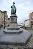 Jan Van Eyck Statue — Stock Photo