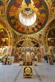 Inne i curchi kloster, orhei, moldavien, europa — Stockfoto