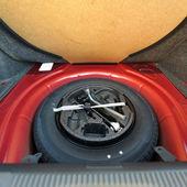 Spare tire (wheel) — Stock Photo