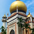 Sultan mosque in Singapore - Stock Photo