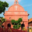 Christ church in Melaka — Stock Photo