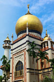 Mezquita del sultán en singapur — Foto de Stock