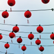 Chinese paper lanterns — Stock Photo