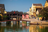 Japanese bridge at Hoi An — Stock Photo