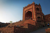 Buland Darwaza, big gates of Jama Masjid Mosque — Stock Photo