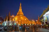 Yangoon shwedagon selami tapınağı — Stok fotoğraf