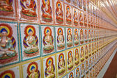 Endless Buddha pattern — Stock Photo