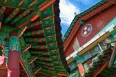 Korean temple — Stock Photo