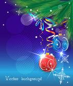 Weihnachten vektor — Stockvektor