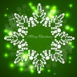 Snow vector — Stock Vector #7232696