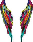 Wings vector — Stock Vector