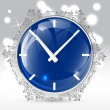 Clock vector — Stock vektor