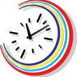 Stock Vector: Clock vector