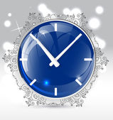 Clock vector — Vettoriale Stock