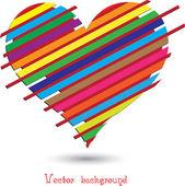 Formato vectorial de corazón — Vector de stock