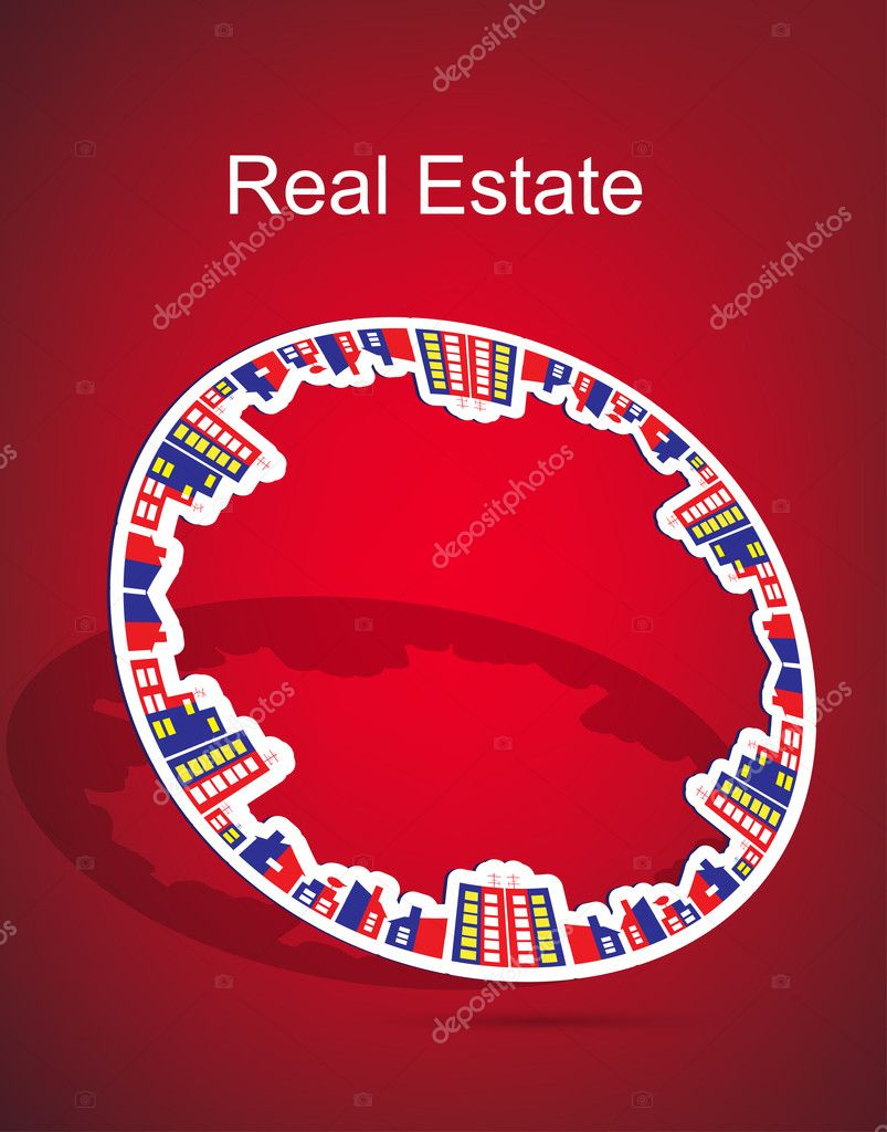 Real estate  Stock Vector #7354618