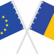 EuropeUnion/Romania — Vector de stock #7330815