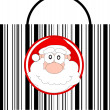 Stock Vector: Christmas sales