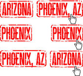 Phoenix, Arizona — Stock Vector