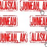 Alaska, Juneau — Stock Vector #7495390