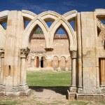 Broken cloister columns — Stock Photo #6801188