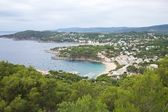 Coastline at Llafranc village — Stock Photo