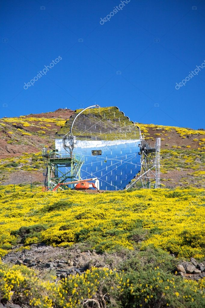 Roque de los Muchachos observatories at La Palma Canary Islands Spain — Stock Photo #6801567