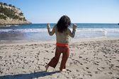 Avec plage de danse veste — Photo