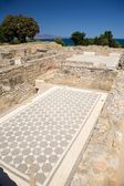 Chão de casa grega — Foto Stock