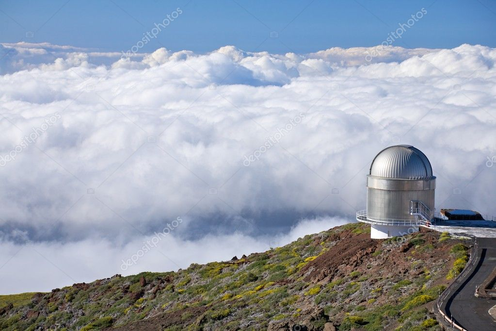 Roque de los Muchachos observatories at La Palma Canary Islands Spain  Stock Photo #6833020