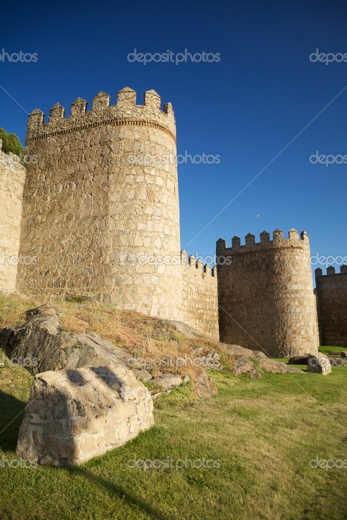 View of Avila city at Castilla in Spain — Stock Photo #6833998