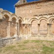 Cloister ruins — Stock Photo