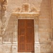 Close carved door — Stock Photo #6858135