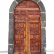 Door of hermitage — Stock Photo
