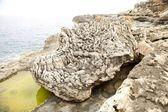 Curiosa rocha — Foto Stock