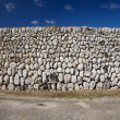 Great stones wall — Stock Photo